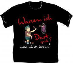 Dartsport T-shirts mit Wunschname Dartspieler Profisportler
