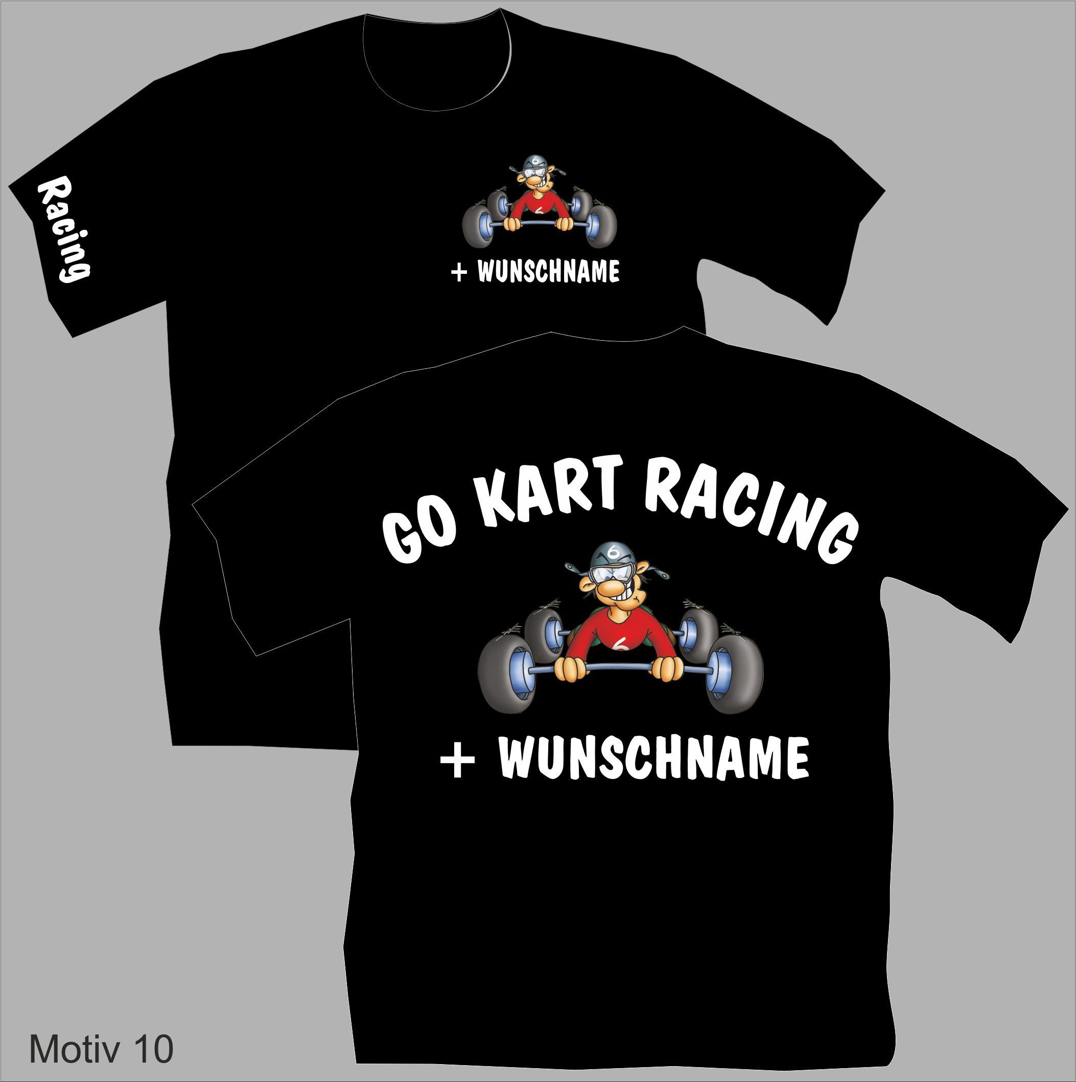 T-Shirt Go Kart Racing Motiv 10 | Flexi-Design - Online-Shop